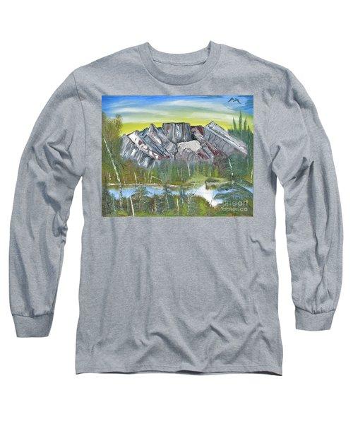 Birch Mountains Long Sleeve T-Shirt