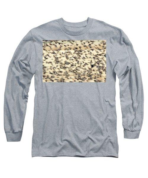 Bird Blizzard Long Sleeve T-Shirt