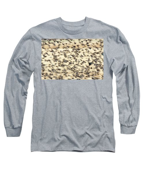 Bird Blizzard Long Sleeve T-Shirt