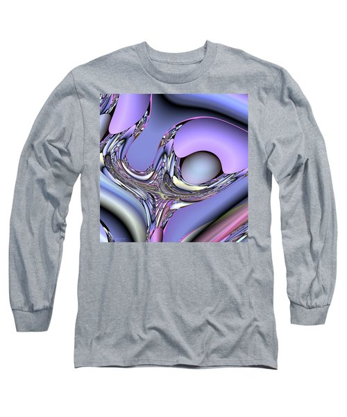 Bird Nest Fractal Long Sleeve T-Shirt