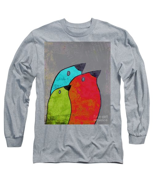 Birdies - V11b Long Sleeve T-Shirt by Variance Collections
