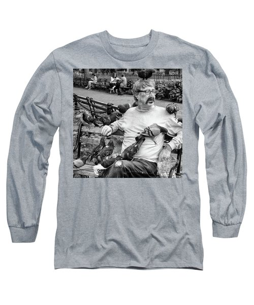Birdman Of Wsp Long Sleeve T-Shirt
