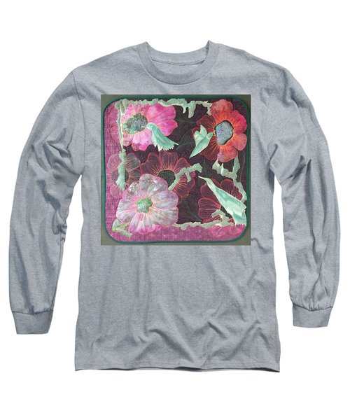 Birds And Blooms Long Sleeve T-Shirt