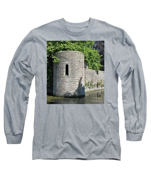 Long Sleeve T-Shirt featuring the photograph Birds Eye View by Linda Prewer