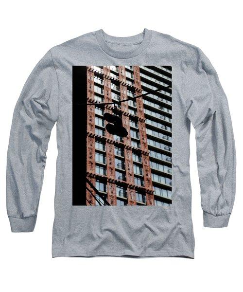 Birds Of Soul  Long Sleeve T-Shirt by Empty Wall