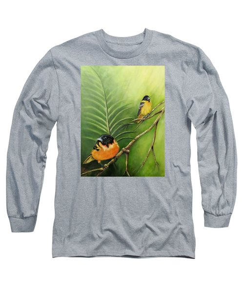 On The Lookout, Birds  Long Sleeve T-Shirt
