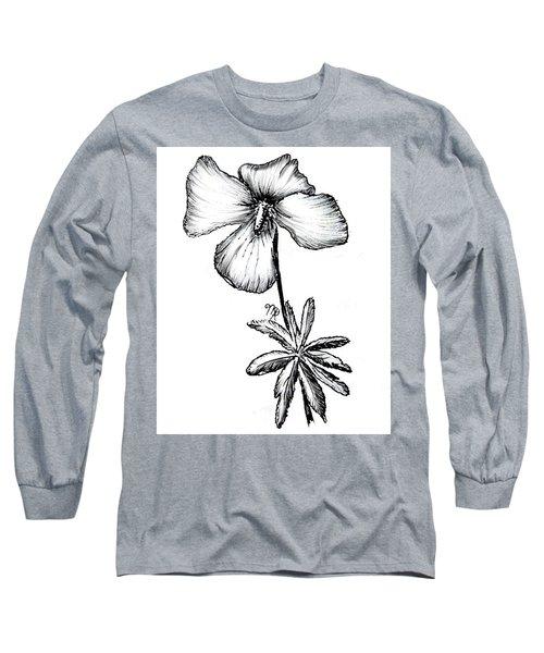 Birdsfoot Violet Long Sleeve T-Shirt