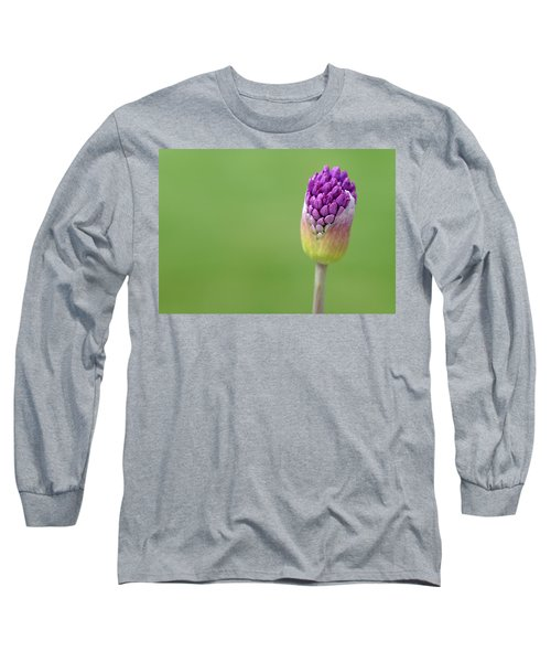 Long Sleeve T-Shirt featuring the photograph Birthing Springtime by Linda Mishler