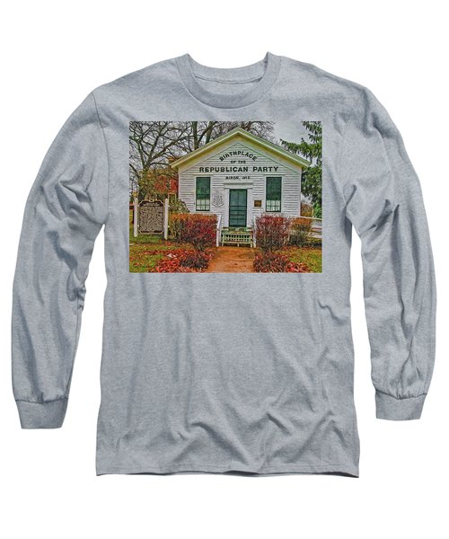 Birthplace Republican Party Long Sleeve T-Shirt by Trey Foerster