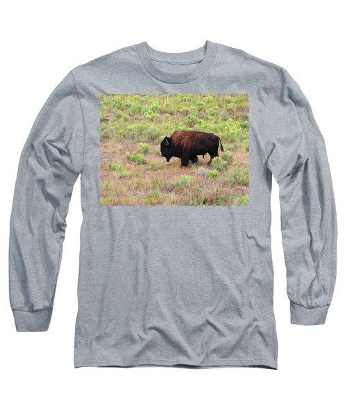 Bison1 Long Sleeve T-Shirt