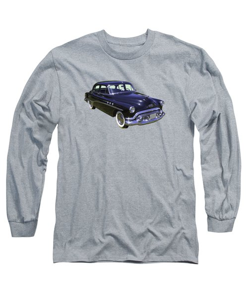 Black 1951 Buick Eight Antique Car Long Sleeve T-Shirt