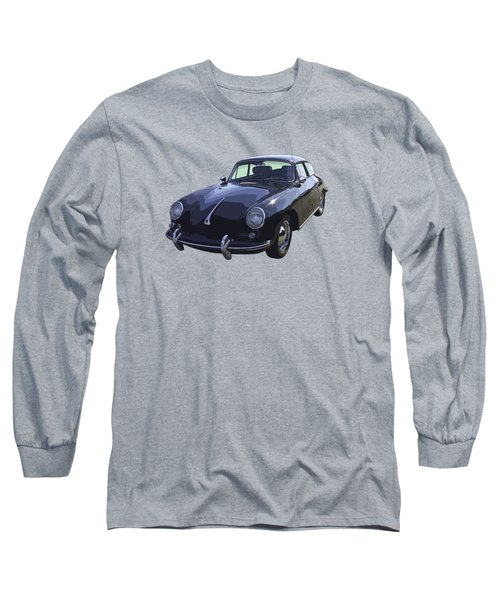 Black 1962 Porsche 356 E Sportscar  Long Sleeve T-Shirt