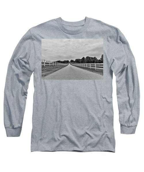 Black And White 134 Long Sleeve T-Shirt