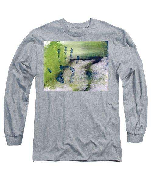 Black Bird Long Sleeve T-Shirt by Annie Walczyk