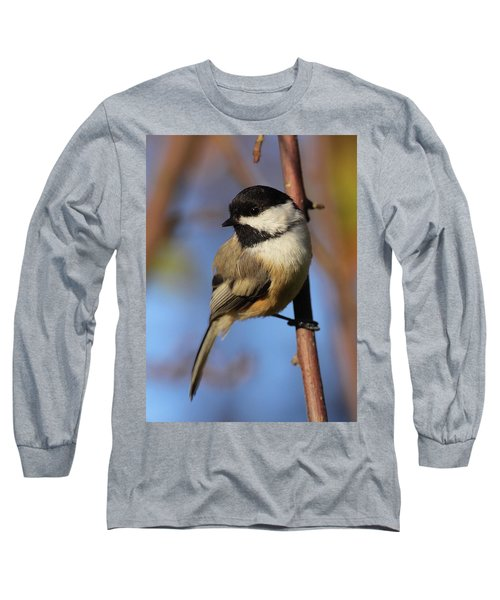 Black-capped Chickadee Long Sleeve T-Shirt