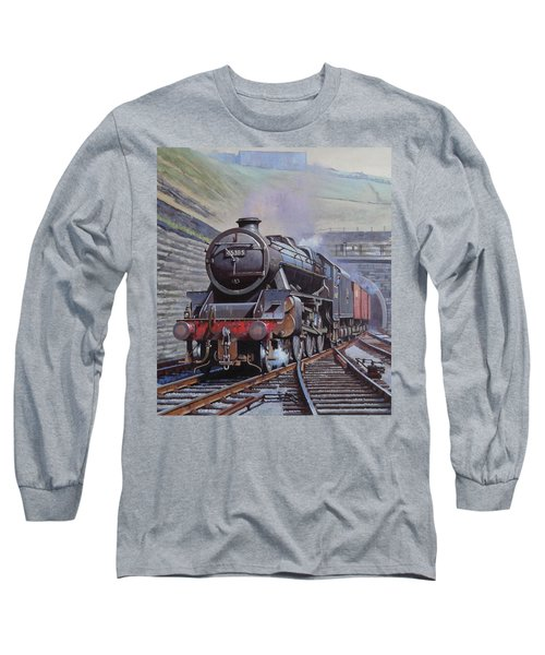 Black Five On Goods. Long Sleeve T-Shirt by Mike  Jeffries