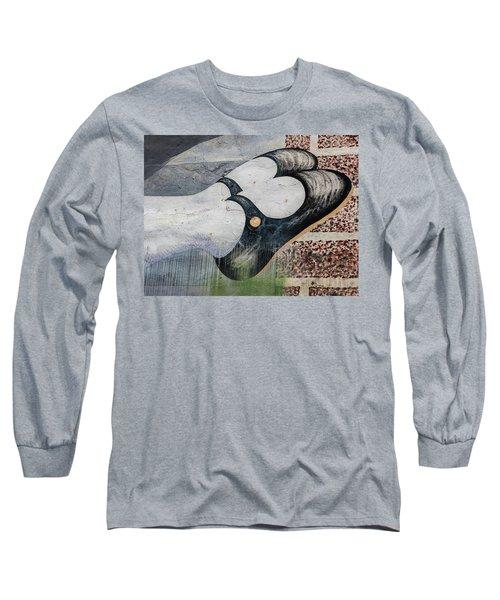 Black Shoes Long Sleeve T-Shirt