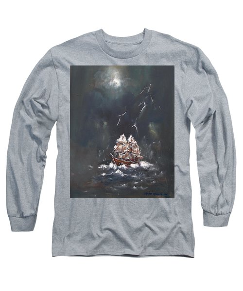 Black Storm Long Sleeve T-Shirt