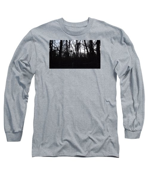 Long Sleeve T-Shirt featuring the photograph Black Woods by Don Koester