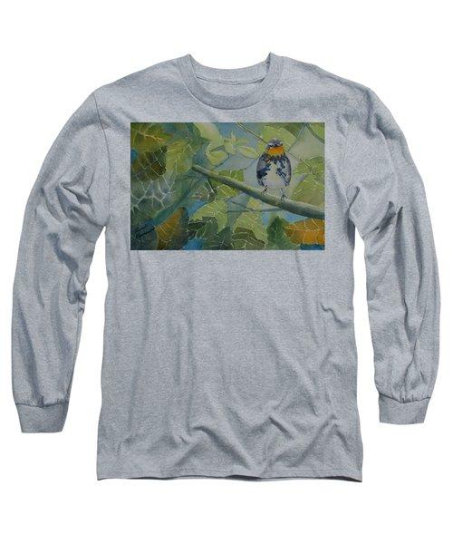 Blackburnian Warbler I Long Sleeve T-Shirt