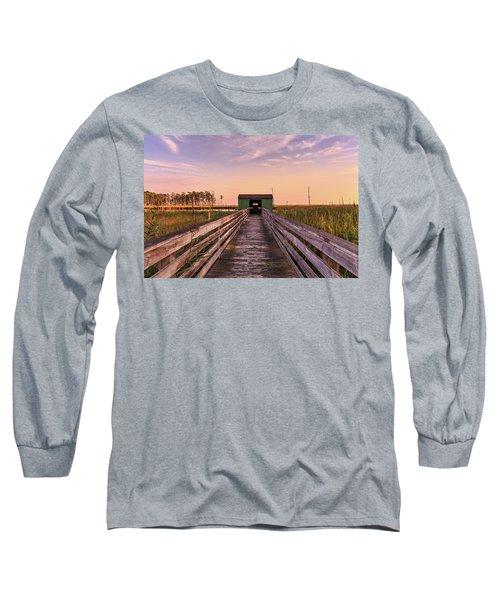 Blackwater Blind Long Sleeve T-Shirt by Jennifer Casey