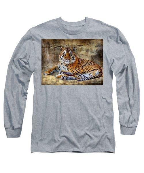 Blank Stare Long Sleeve T-Shirt