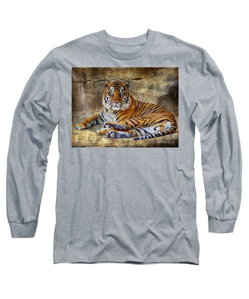 Blank Stare Long Sleeve T-Shirt