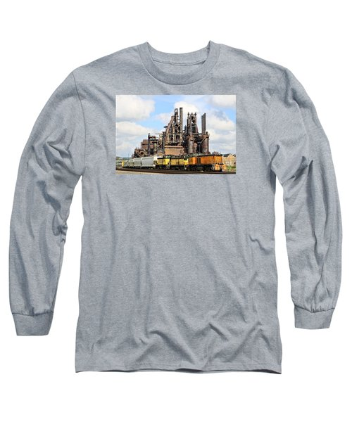 Blast Furnaces Of South Bethlehem Long Sleeve T-Shirt