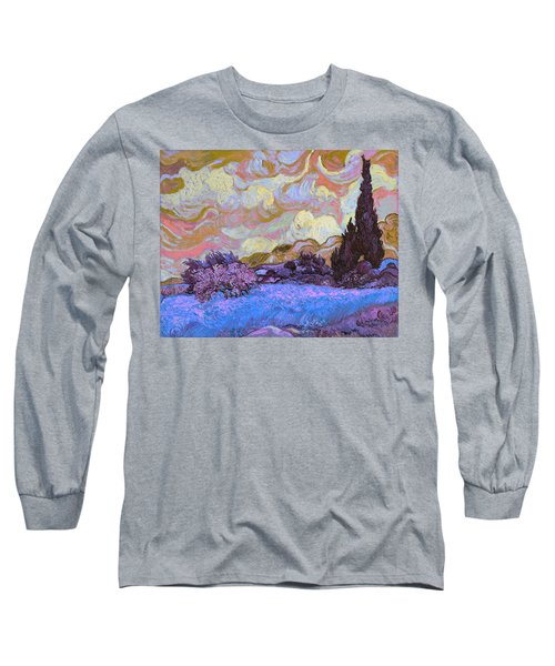 Blend 20 Van Gogh Long Sleeve T-Shirt by David Bridburg