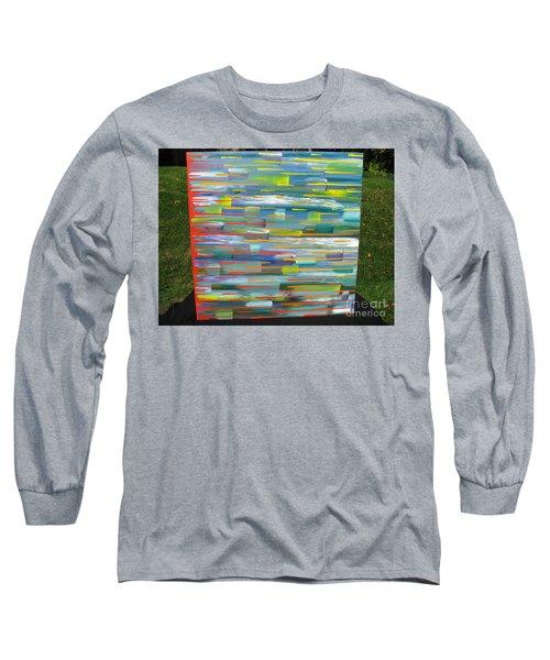 Blindsided Long Sleeve T-Shirt by Jacqueline Athmann