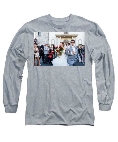 Long Sleeve T-Shirt featuring the photograph Blis by Annette Hugen