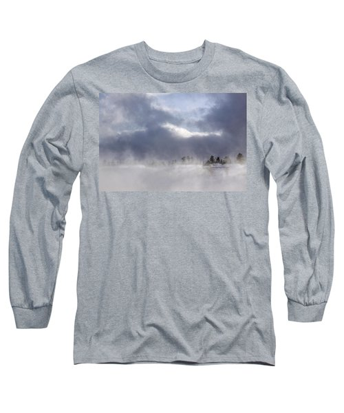 Blizzard In Bryce Canyon Long Sleeve T-Shirt