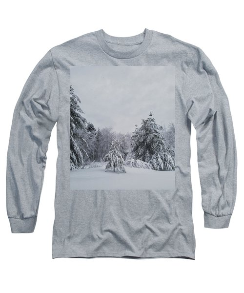 Blizzard In New England Long Sleeve T-Shirt