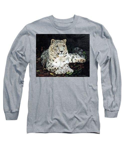 Blizzard Long Sleeve T-Shirt by Linda Becker