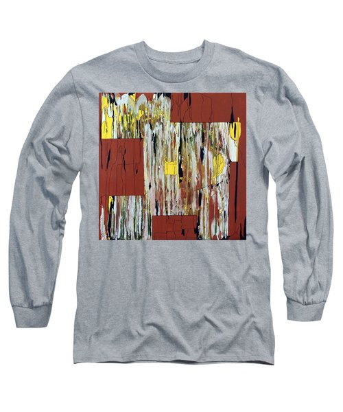 Block Dance Long Sleeve T-Shirt by Pat Purdy