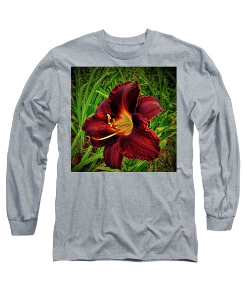 Blood Lily  Long Sleeve T-Shirt