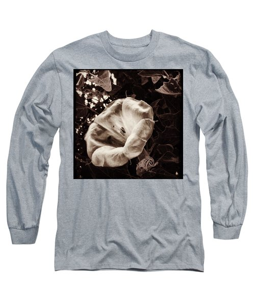 Bloom In Sepia Long Sleeve T-Shirt