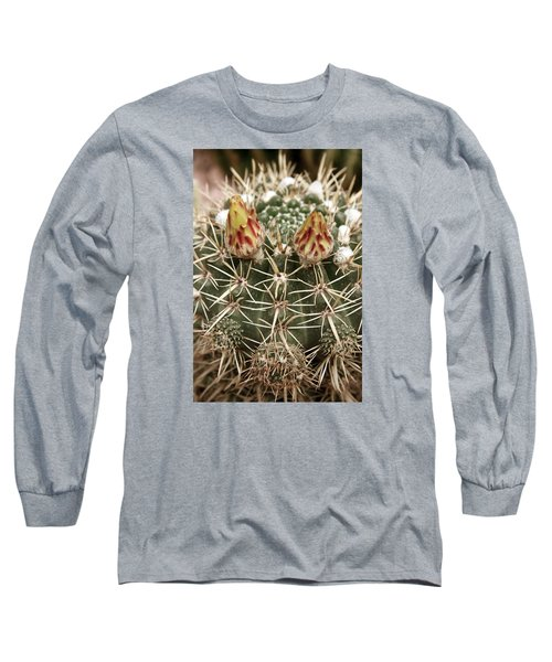 Blooming Cactus1 Long Sleeve T-Shirt