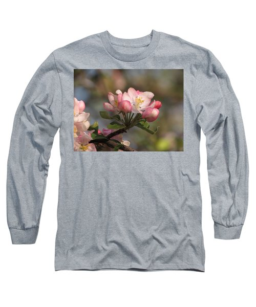 Blooming Long Sleeve T-Shirt by Kimberly Mackowski