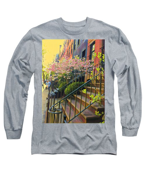 Blooms Of New York Long Sleeve T-Shirt