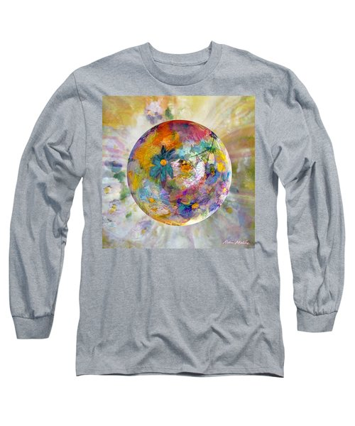 Blossoms In Pastel Long Sleeve T-Shirt