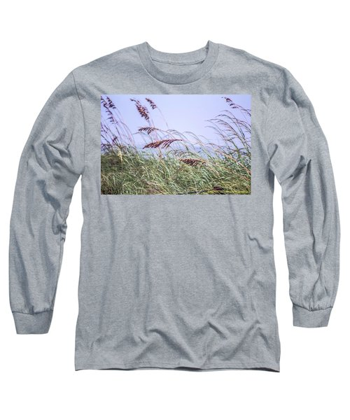 Blowing In The Wind Long Sleeve T-Shirt by Nance Larson