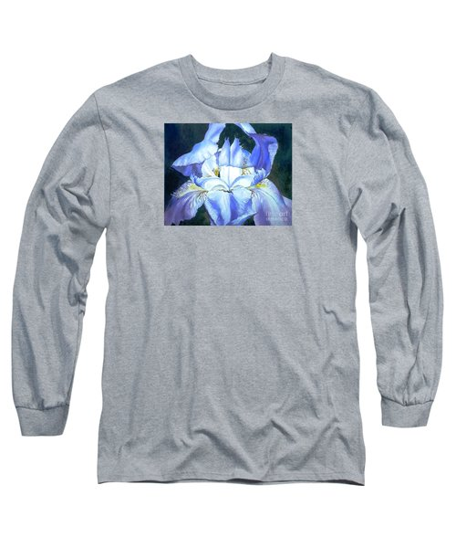 Long Sleeve T-Shirt featuring the painting Blue Beauty by Sandra Phryce-Jones