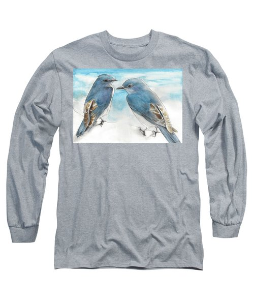 Blue Boys Long Sleeve T-Shirt