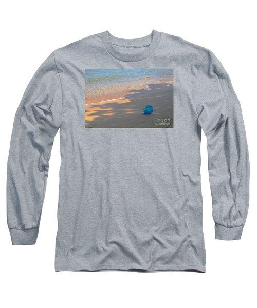Blue Bucket Long Sleeve T-Shirt