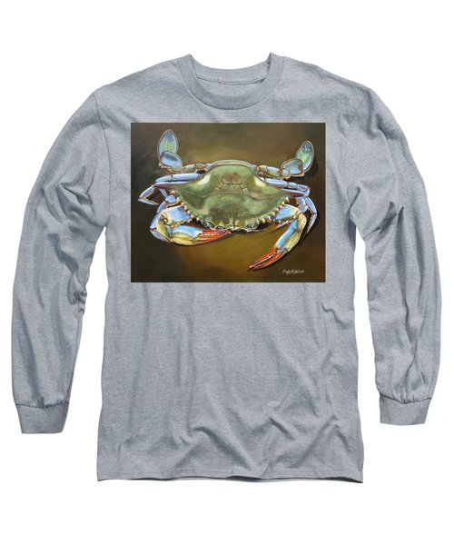 Blue Crab Long Sleeve T-Shirt