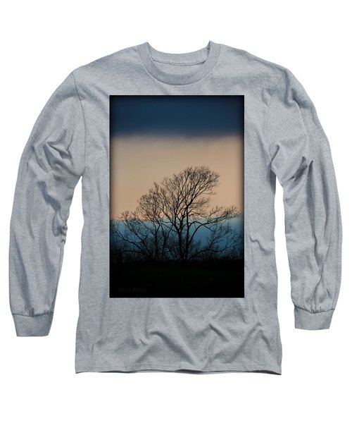 Long Sleeve T-Shirt featuring the photograph Blue Dusk by Chris Berry