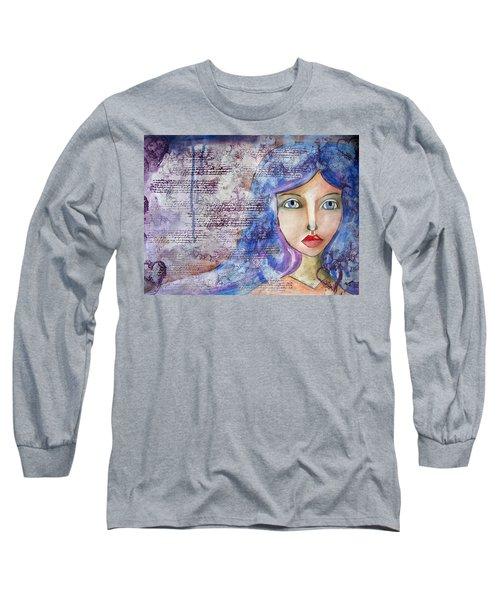 Blue Eyes Long Sleeve T-Shirt