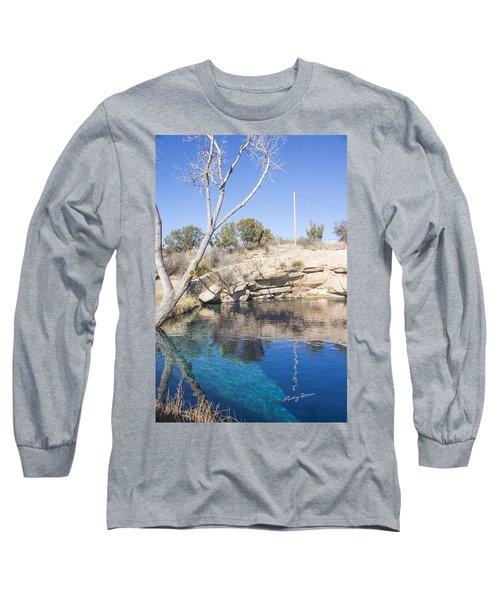Blue Hole Long Sleeve T-Shirt by Ricky Dean