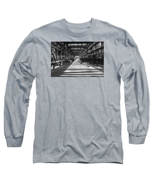 Blue Home Factory Long Sleeve T-Shirt by Catherine Lau